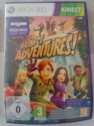 kinect adventures x Box 360 + bateria