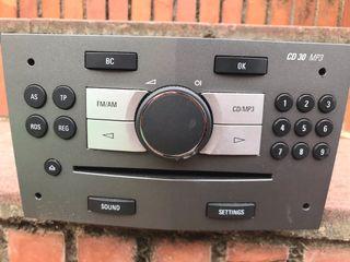 Radio original Opel zafira