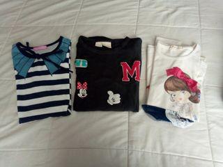 Suéters, camisetas, niña talla 9-10