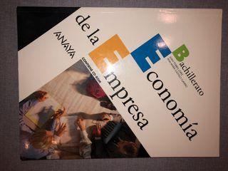 Libro Economía de la Empresa (Anaya)