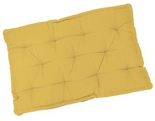 5 Cojines amarillos para sofás de palets 80x120cm