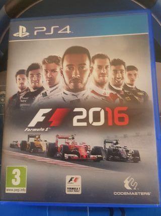 volante PS4 y Juego F1