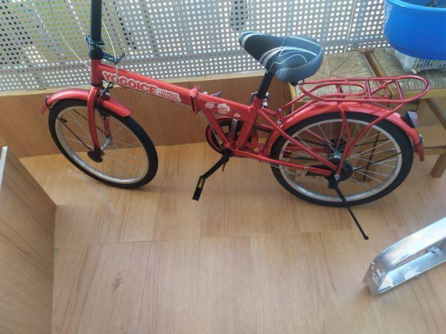 Bicicleta plegable de Sorteo