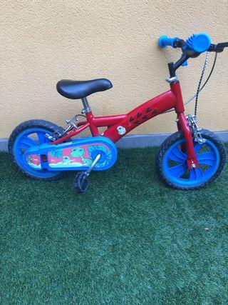 Bicicleta niño con y sin ruedines