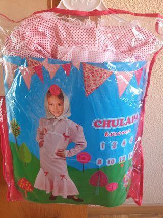 disfraz Chulapa con pañuelo