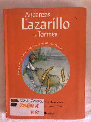 Libro Andanzas del Lazarillo de Tormes