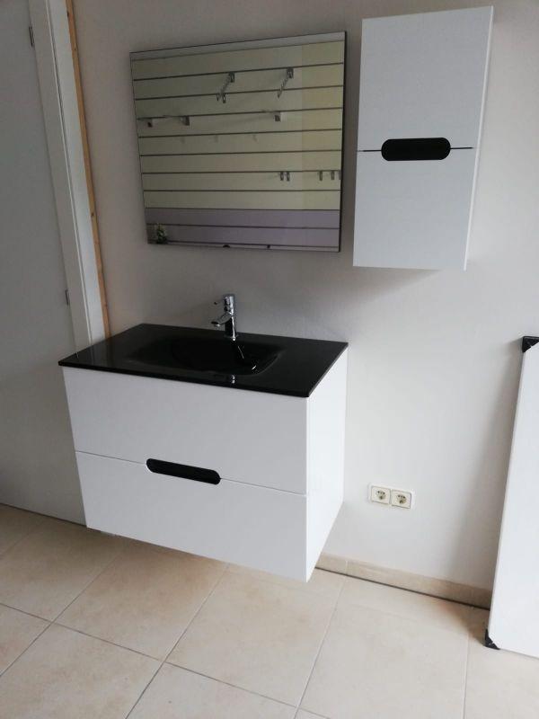 Mueble lavabo suspendido