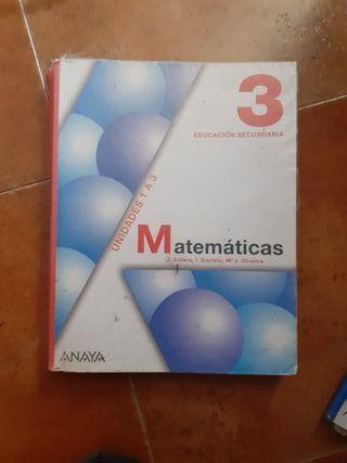 Libro de Matematicas ESO