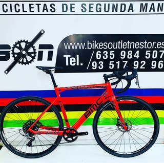Bicicleta BMC crossmachine cx01 carbón de test