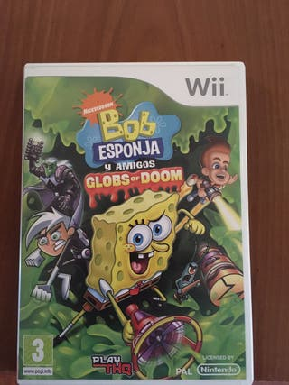 Bob esponja y amigos globs of doom