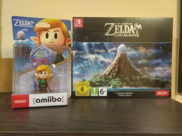Zelda awakening coleccionista + amiibo