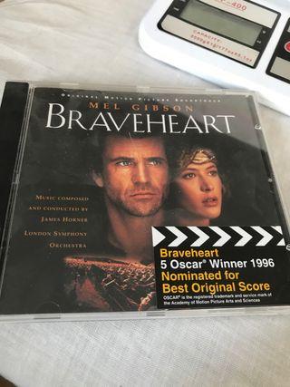 CD Braveheart banda sonora