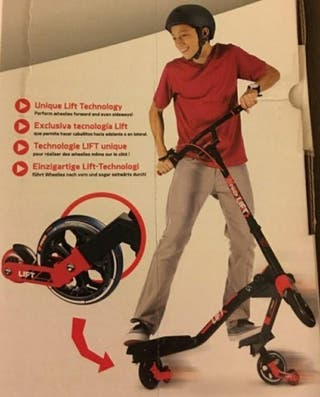 Patinete Fliker Lift Y-Volution (hasta 100kg)