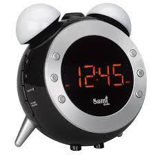Reloj Despertador con Luz Radio temperatura