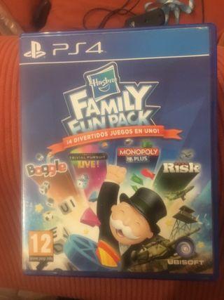 Familia fun pack para ps4