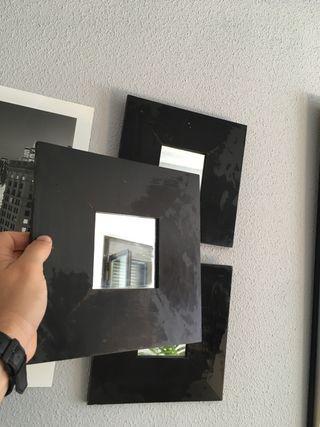 Espejos 25,5 x 25,5cm