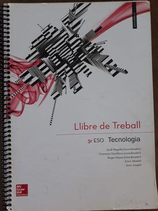 Llibre de Treball 3r ESO Tecnologia Mc Graw Hill