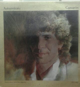 vinilo LP doble de camaron
