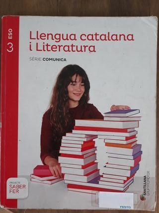 Llengua catalana i Literatura Santillana 3r Eso
