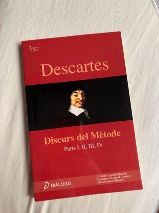 DESCARTES: Discurs del Mètode Parts |, ||, |||, |V