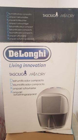 Deshumidificador compacto Tasciugo Delonghi