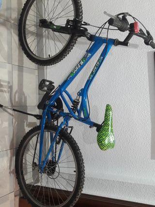 bicicleta montarbike junior MTB