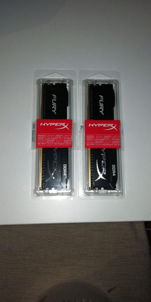 RAM 8GB (2x4) 2400Mhz DDR4