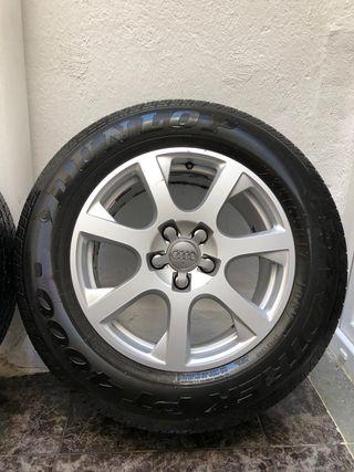 """Llantas Audi Q5 17"""" con neumáticos NUEVOS!!"""