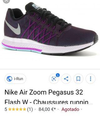 nike pegasus 32 flash zoom mujer running