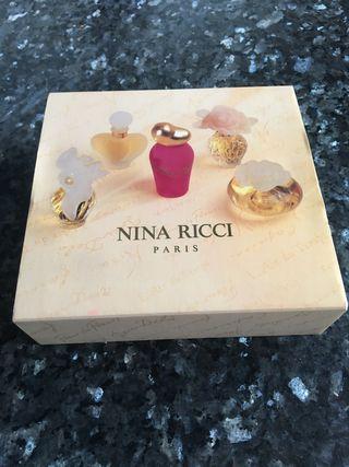 Miniaturas de eau de toilette Nina Ricci original