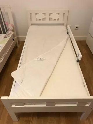 Cama infantil nueva + colchón desenfundable