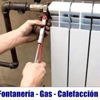 Instalador de agua, gas, calefacción. Reparaciones