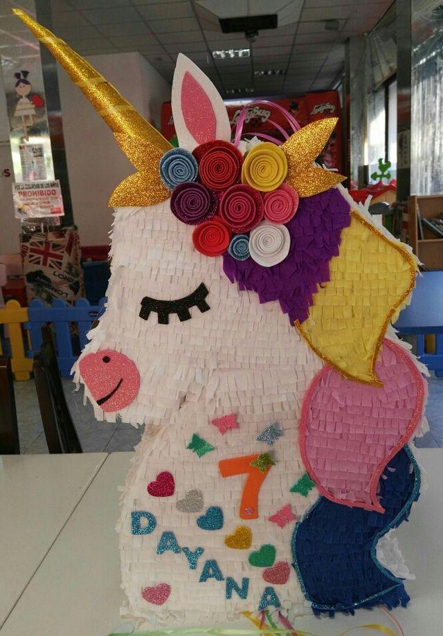 piñata unicornio personalizadas