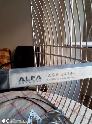 antena largo alcance WiFi