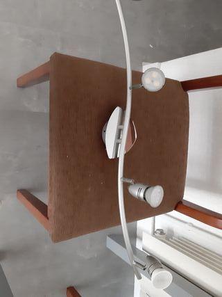 lampara de techo aluminio