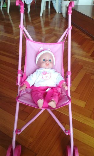 Sillita de juguete con bebé