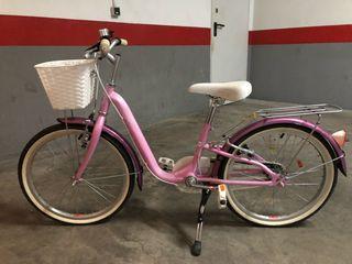 Bicicleta de niña monty