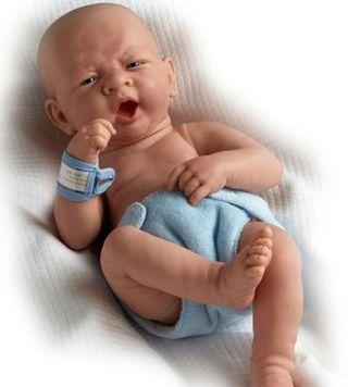 Bebé Reborn de silicona VINILO completo REALISTA
