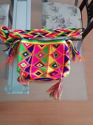 Bolso Wayuu Original totalmente nuevo