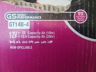 bateria 12v 12 Ah marca Gt GT14B-4