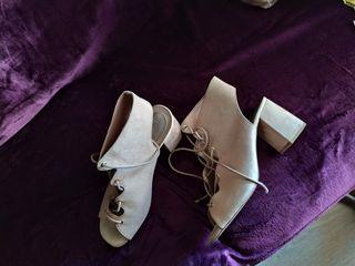 Sandalia botin de Stradivarius