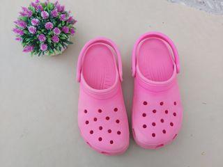 Crocs originales de color rosa Talla 37,5
