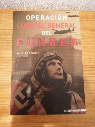 """LIBRO """"OPERACIÓN CUARTEL GENERAL DEL FUHRER"""""""