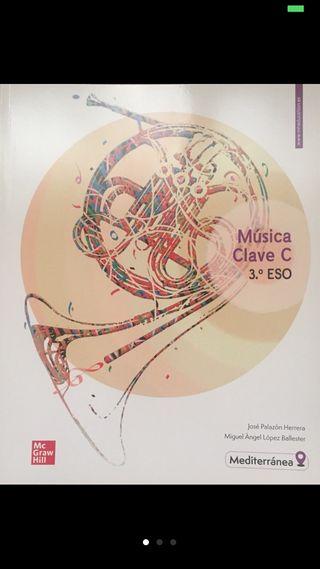 Libro Música Clave C 3 ESO