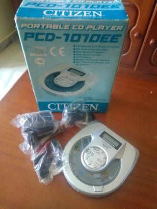 Discman Citizen Nuevo