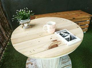Mesa de Palé - Mesa jardín - Mesa decoración