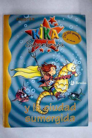 PACK 2 libros, Infantiles Kika Superbruja