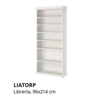 Libreria de color Gris LIATORP IKEA