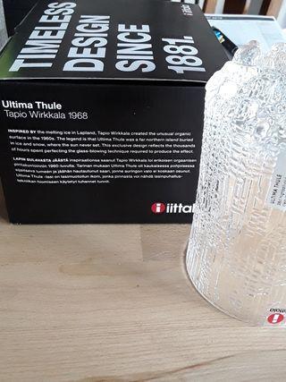 1 vaso nuevo iittala Tapio Wirkkala ultima thule