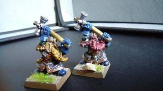 2 Martilladores Enanos - Warhammer fantasy